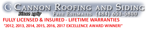 Warranties | G Cannon Roofing and Siding | www.cannonroofingandsiding.com